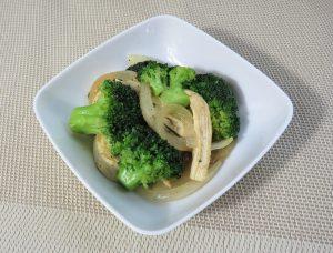 ブロッコリーと鶏ささみのソテー
