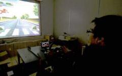ドライビングシミュレーターを利用した運転行動⁄感性評価の例