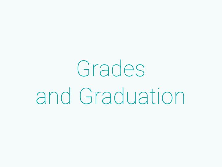 成績・卒業について
