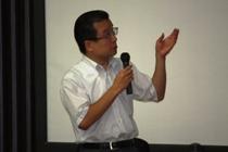 山口教務主任による入試制度説明