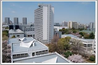 現在の西早稲田キャンパス