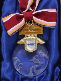 優勝メダル