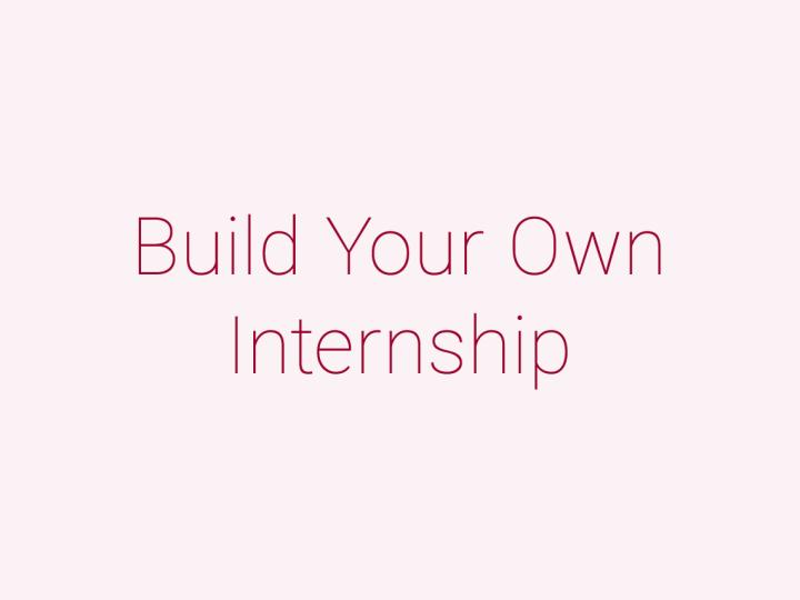 個人で応募・参加するインターンシップ