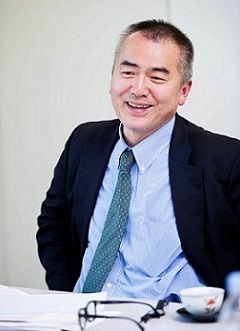 Prof. Toru Shinoda Dean of Center for International Education