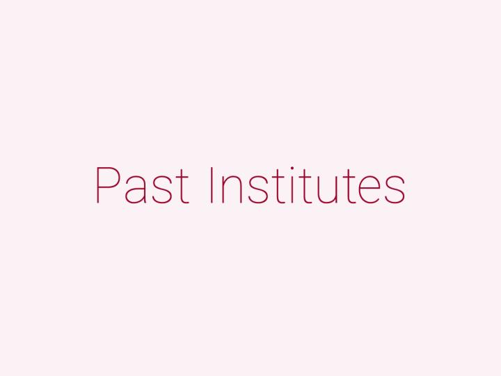 過去に活動していた研究所