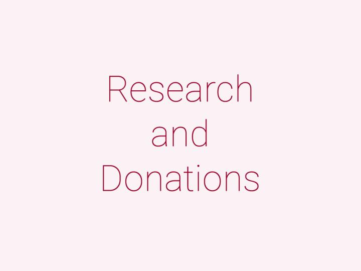 受託・共同研究、指定寄付