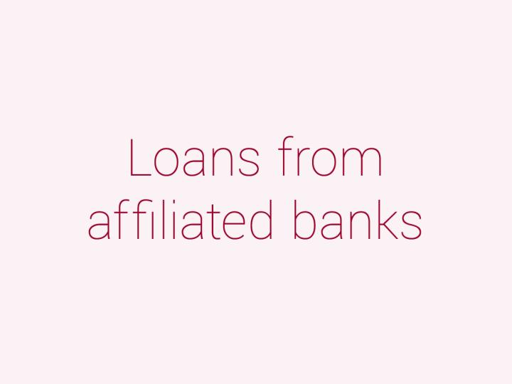 提携都市銀行による学費ローン