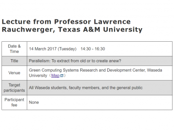 2017-02-24 16_30_23-Annoucement of Lecture from Professor Lawrence Rauchwerger, Texas A&M University