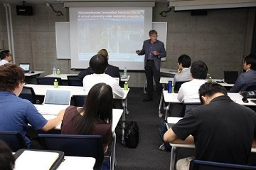 Prof. Long, Director of Macromolecules Innovation Institute, talked about VT research activities