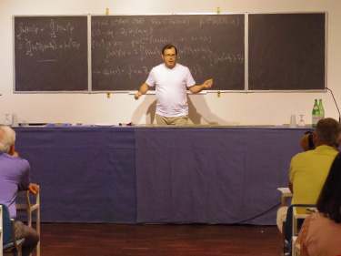 """Report of Summer School """"Mathematical Analysis of the Navier"""
