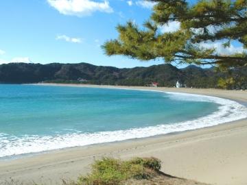 弓ヶ浜全景