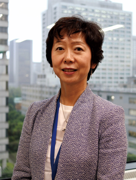 Director-General, Global ICT Strategy Bureau, Ministry of Internal Affairs and Communications, Makiko Yamada