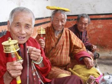 ブータンの人々