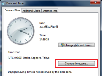 Enable JavaScript and Cookies, Date and Time, Time Zone