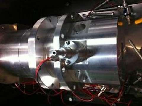 航空用プロトタイプエンジン