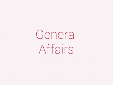General Affairs