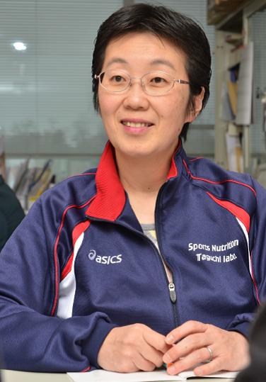 taguchi研究への意気込みを熱弁する田口准教授
