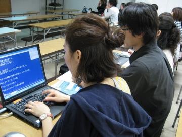 障がい学生支援室有償ボランティアによるサービス