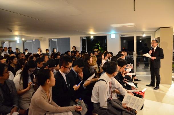 学生・一般の方 約160名が聴講しました