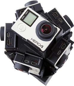 360°カメラの構成例