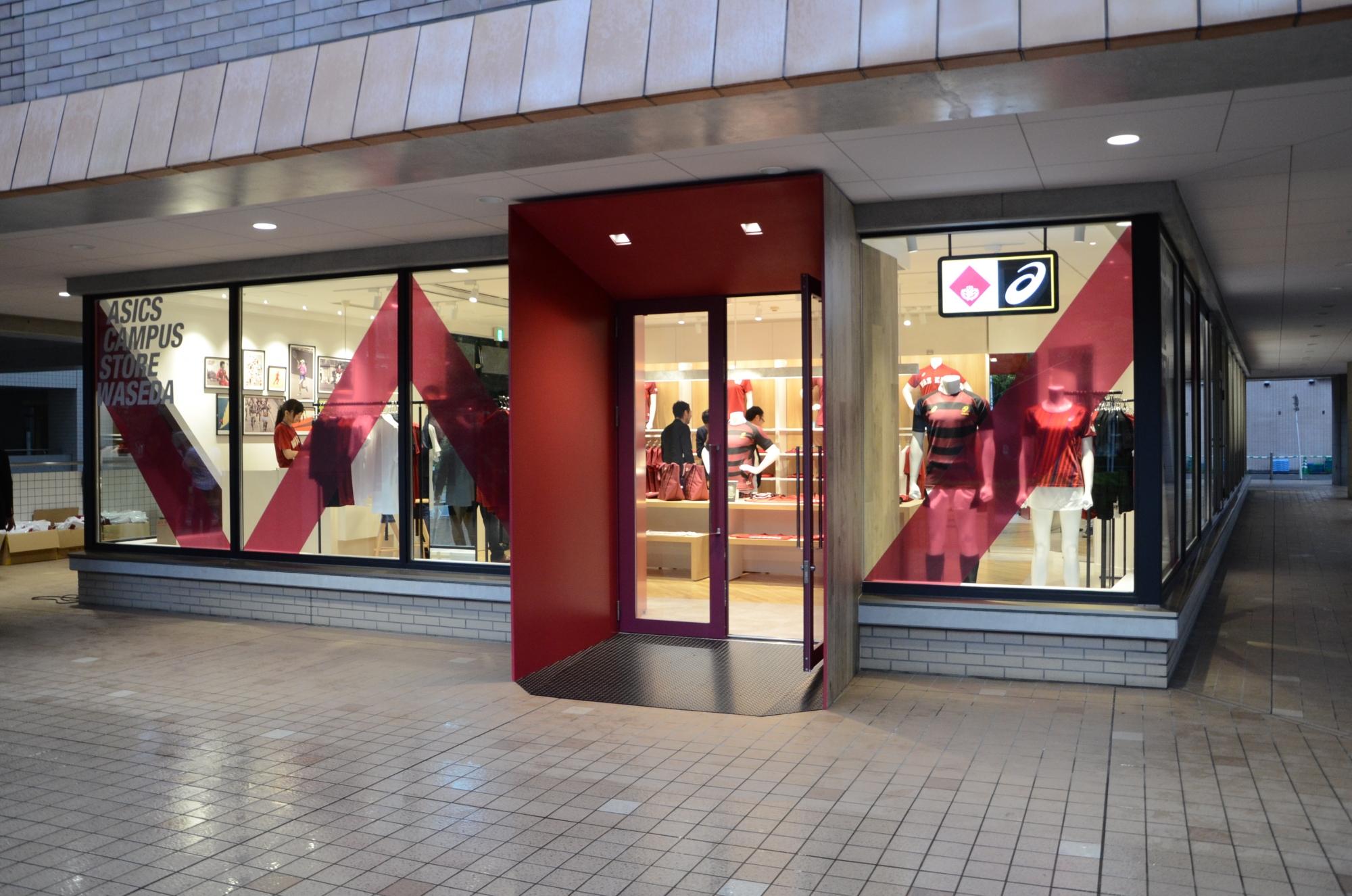 e11fb0a27af3 ASICS CAMPUS STORE WASEDA now open – Waseda University