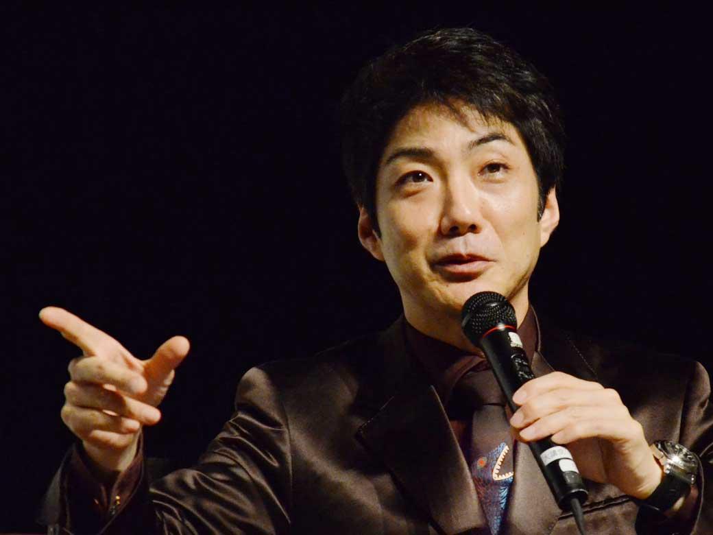 講師 : 野村萬斎氏