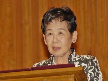 ※写真は2012年4月、栄誉フェロー贈呈時のもの