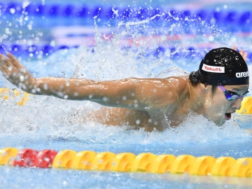 Seto in the final round (Photo: Kyodo)