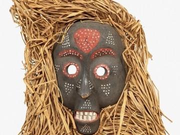 写真3_仮面〈バントゥー系民族〉
