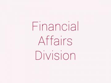 Financial Affairs Division