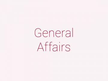 General Affairs