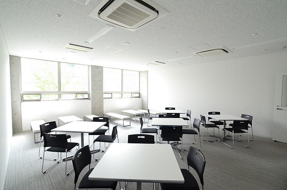 White-toned interior