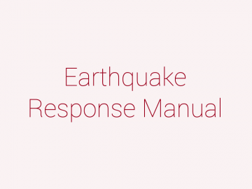 Earthquake Response Manual For Students