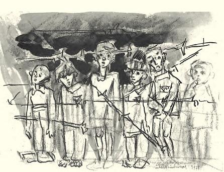 Remembering Auschwitz: Seventy years after liberation – Exhibition of Mieczysław Kościelniak Paintings