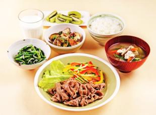 taguchi3女性アスリートの食事例 出典:(公財)東京都スポーツ文化事業団