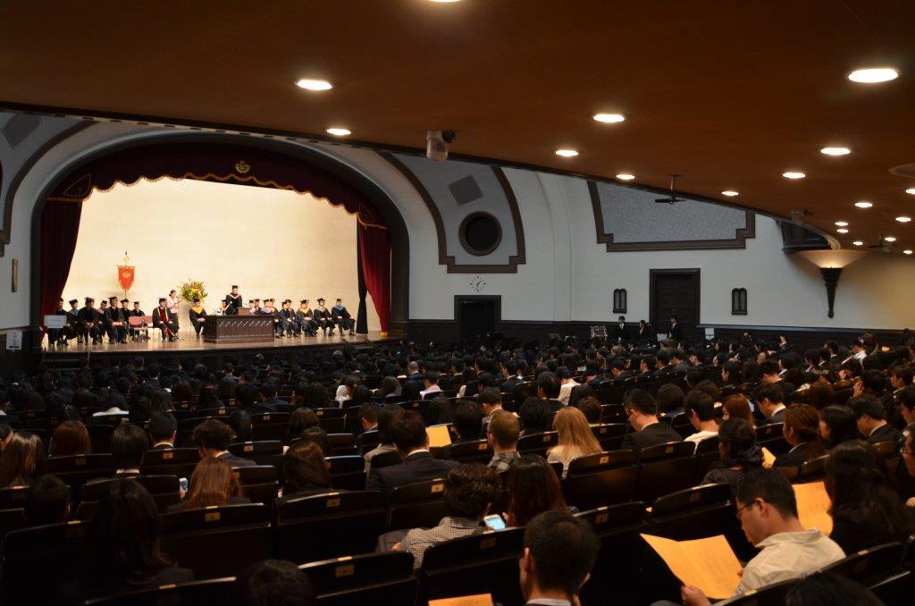 2015 Autumn entrance ceremonies