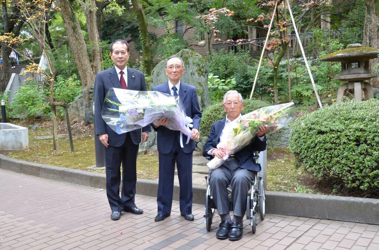 "Alumni drafted in wartime Japan speak: ""Never again"""