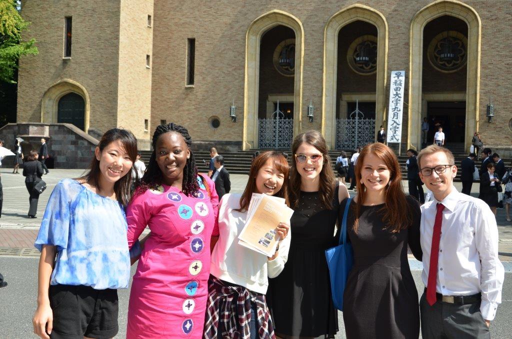 Nearly 700 international students graduate at autumn graduation ceremonies
