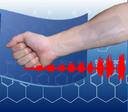 From wearable device to patch – electronic nano-adhesive plaster capable of measuring muscular activity