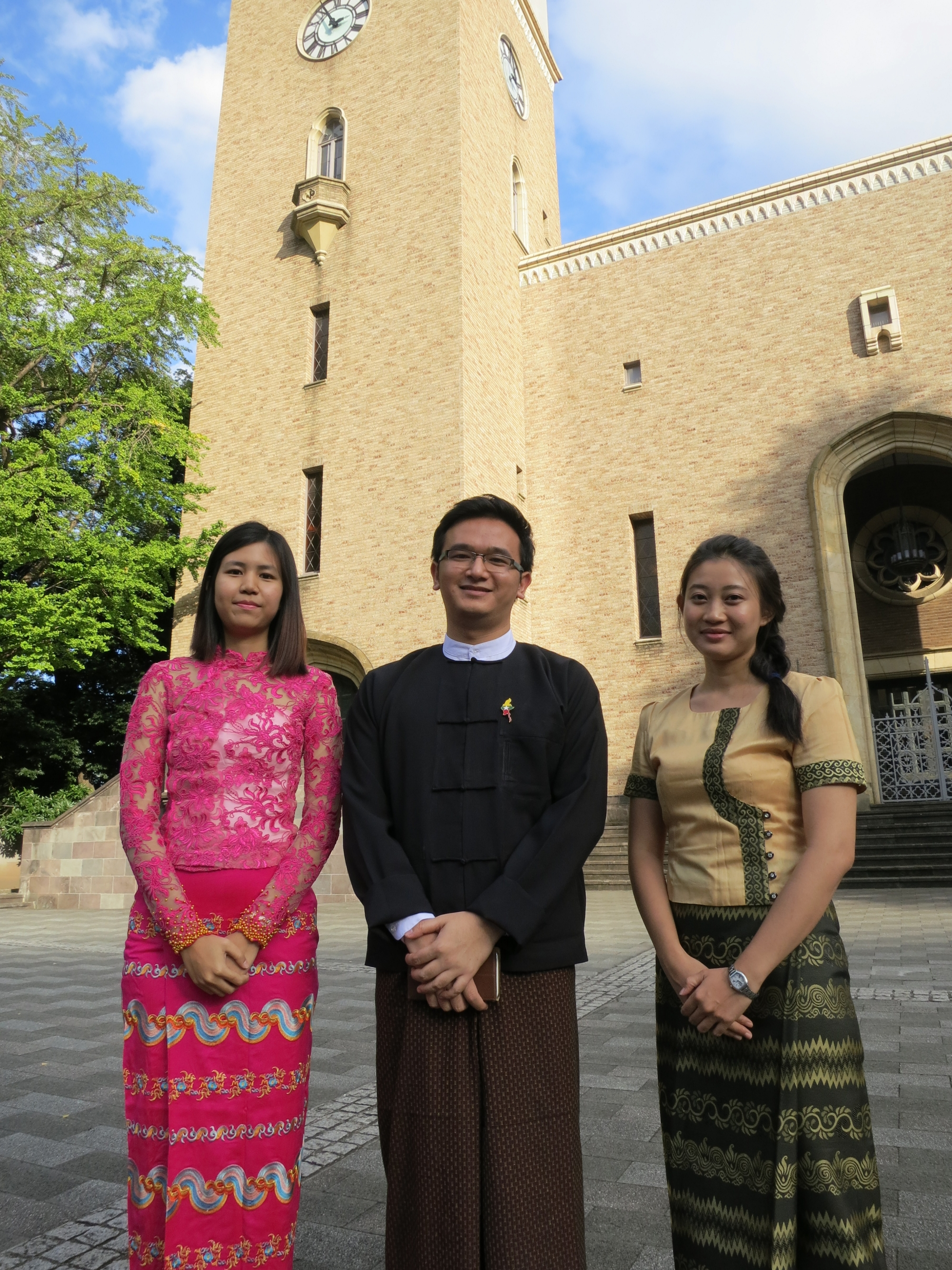 Students from Myanmar inspired to serve their country