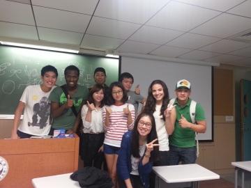 種田さんの中国語授業の仲間たち。