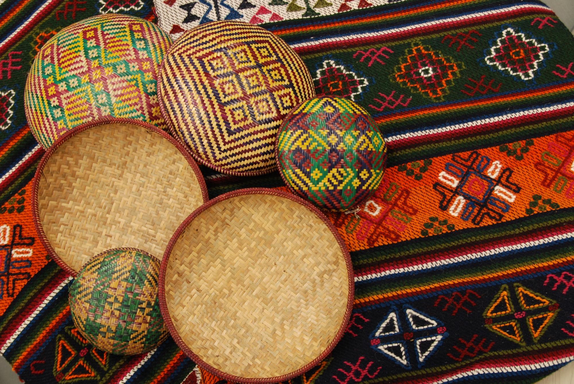 The art of bamboo weaving