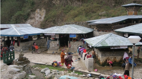 Bhutan, a lovely place (Hot spring version)
