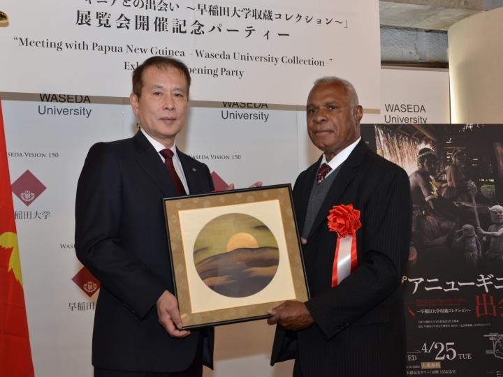 Ambassador of Papua New Guinea visits Waseda