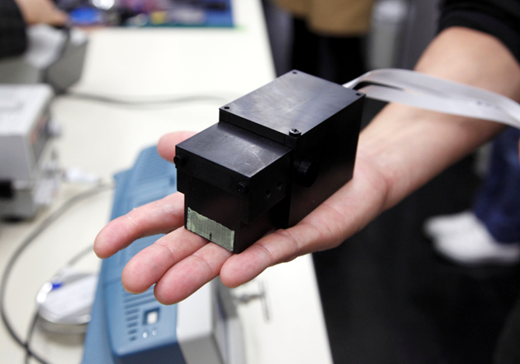 Medical gamma-ray camera is now palm-sized