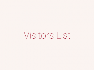 Visitors List