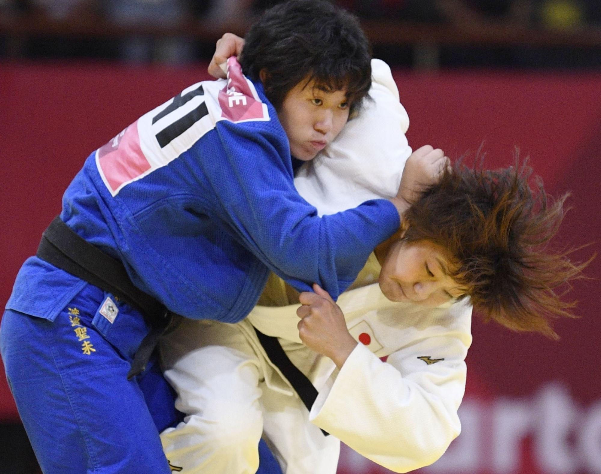 Representing Philippines, Kiyomi Watanabe wins historic medal in Judo at Asian Games 2018