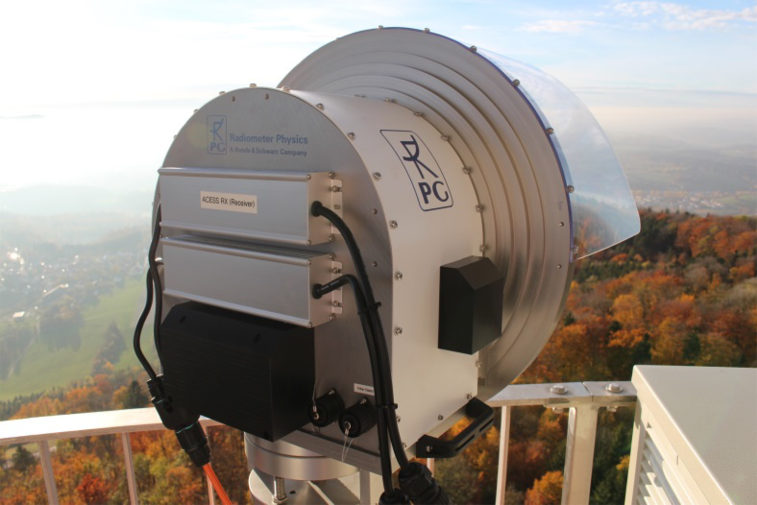 Prospects for 5G and beyond: The first THz radio link with up to 100 Gbps transmission speed