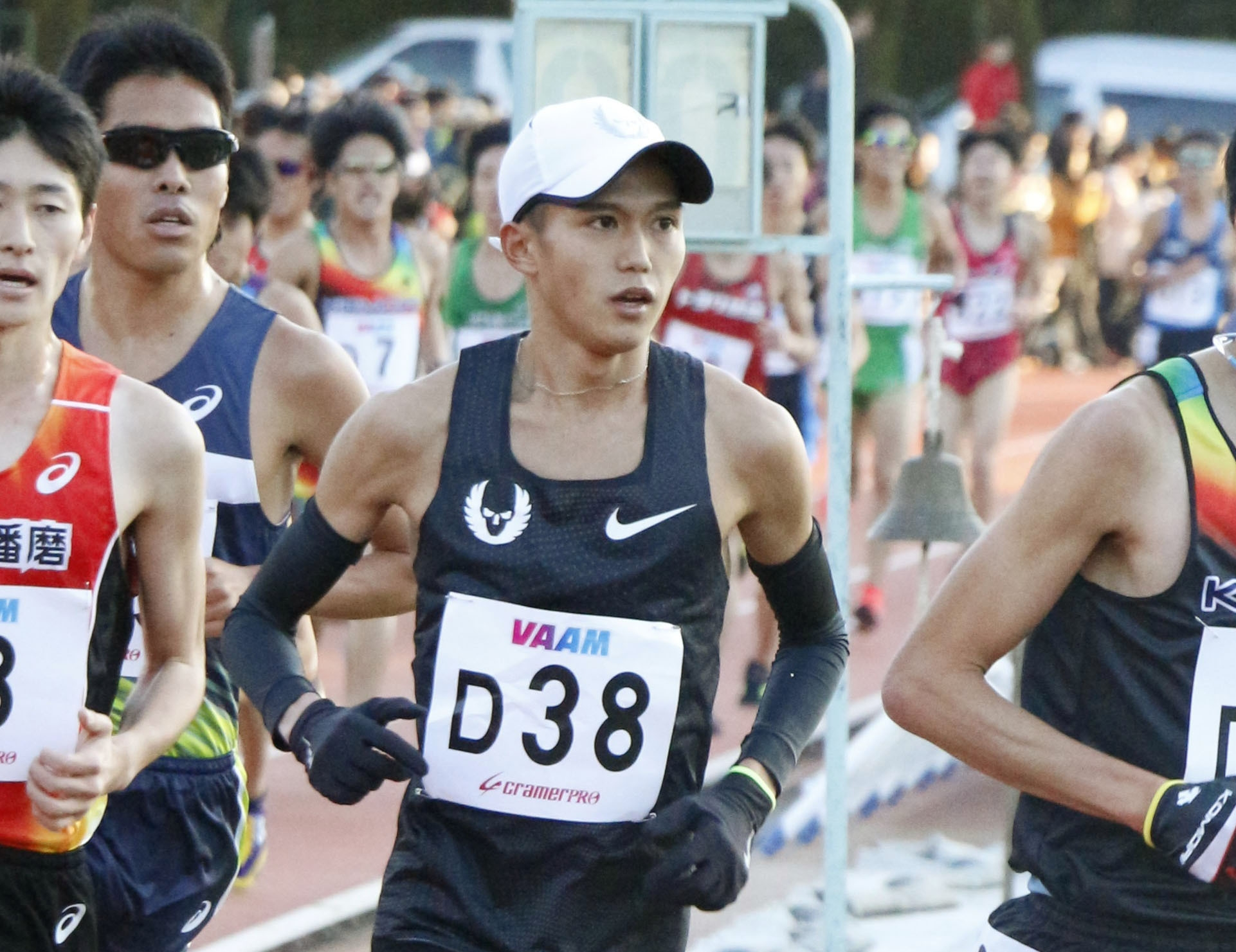 Suguru Osako '14, national record holder in marathon, named Athlete of the Year by JAAF