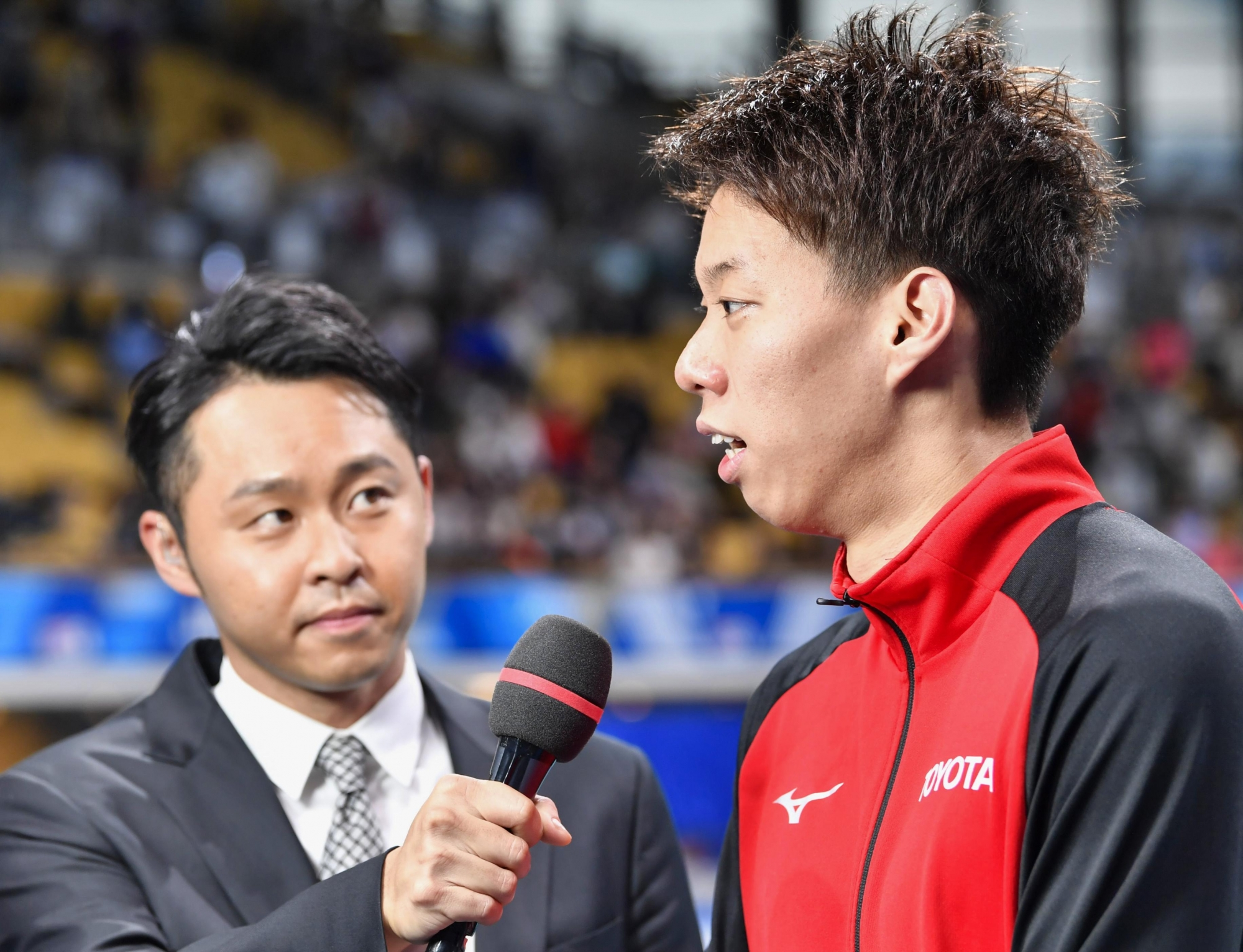 Swimmers Daiya Seto '17 and Ippei Watanabe '19 win a total of four gold medals at All Japan Championship